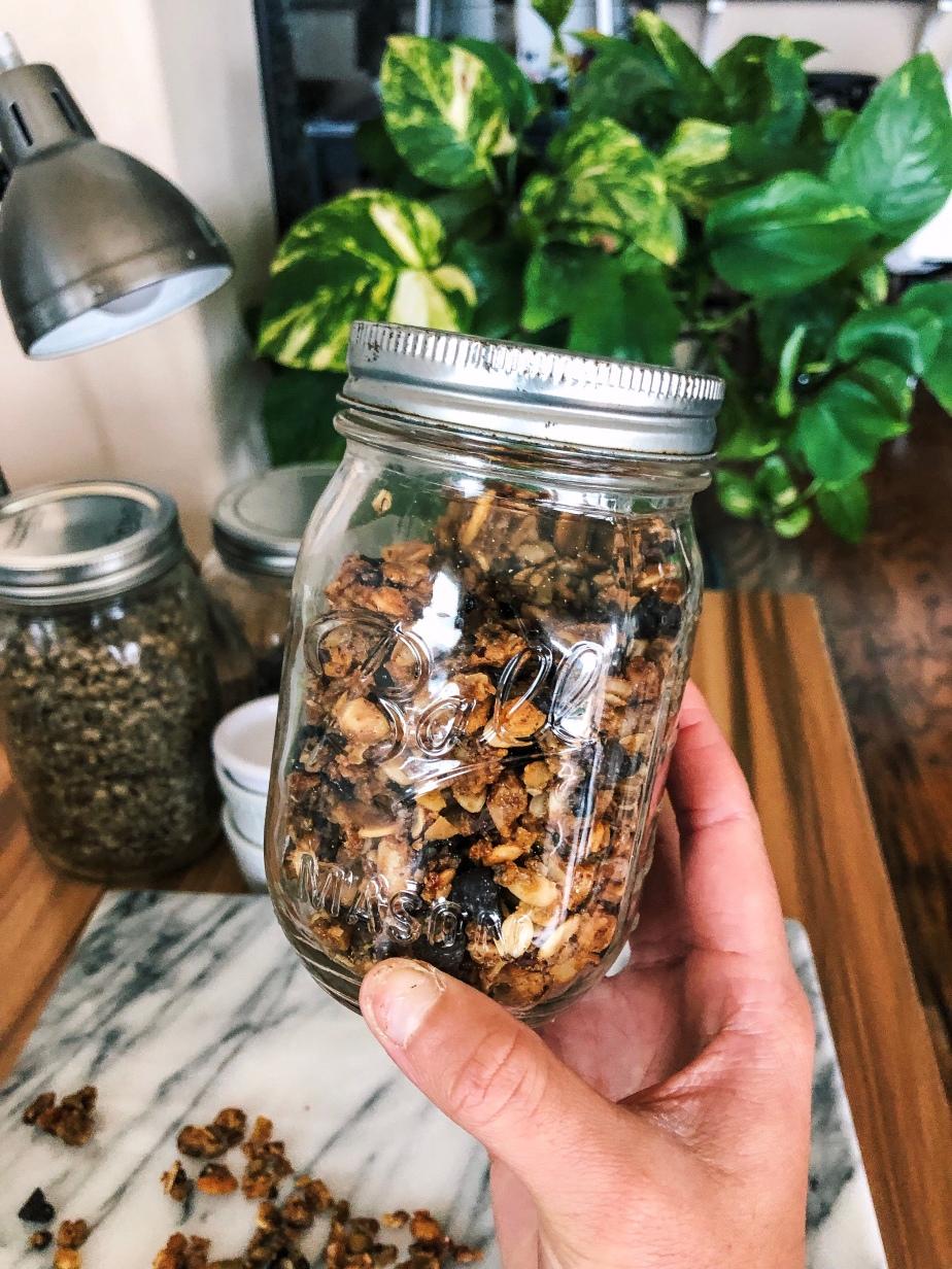 Vanilla Almond Grain FreeGranola